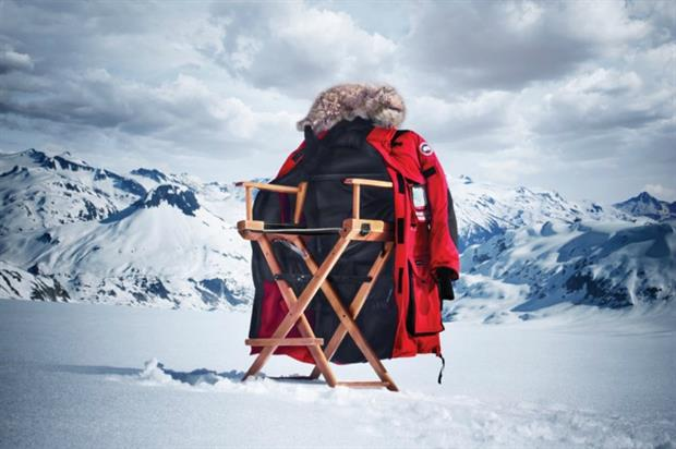 Canada Goose: bringing outdoor cinema to Harvey Nichols this winter