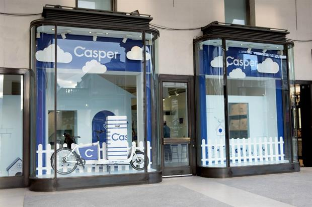 Casper: sleep haven in central London