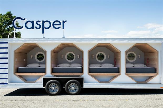 Casper to launch 'Sleep Tour' across UK