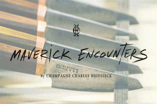 Charles Heidsieck to kickstart 'Maverick Encounters'