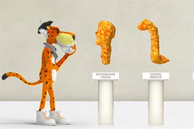 Cheetos Museum: showcasing works of art from the brand
