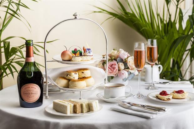 The Dorchester's head pastry chef, David Girad has created a series of gardening-inspired treats