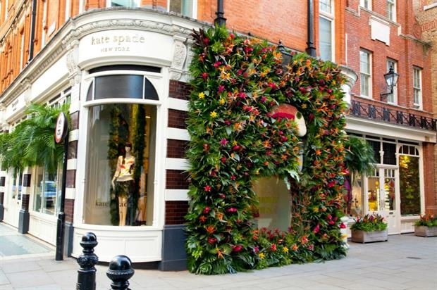 Chelsea in Bloom: Kate Spade was one retailer taking part in last year's show