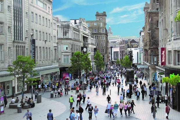Liverpool's Church Street: featuring as part of British Style Collective