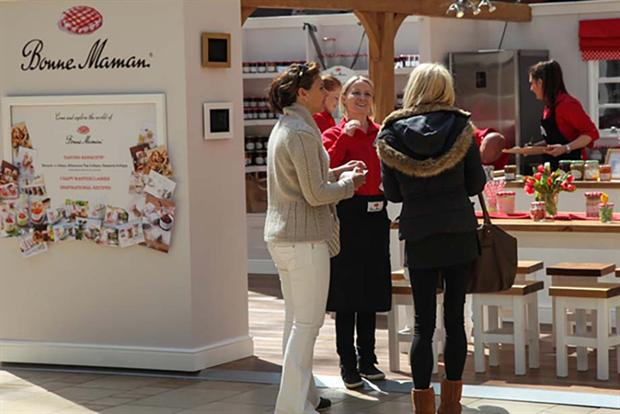 The 'House of Bonne Maman' activation was launched at Meadowhall in Sheffield