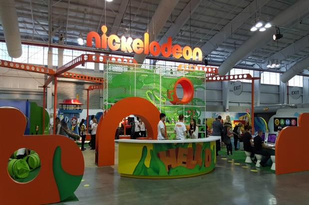 Nickelodeon: one of the brands at Play Fair