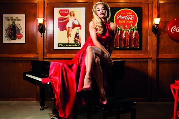 One of Coca-Cola's highlights was a pop-up Contour Centenary Bar with Rita Ora