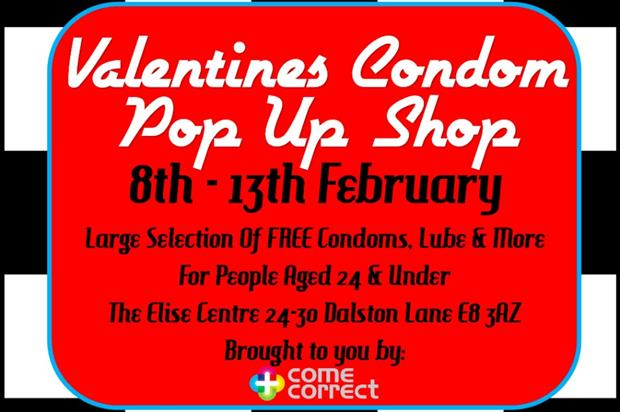 The pop-up will open in the lead up to Valentine's Day
