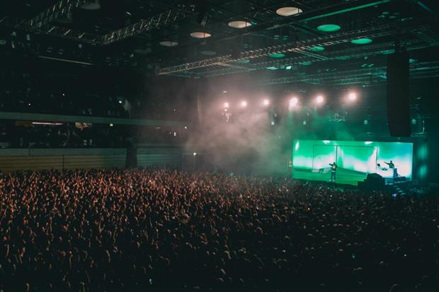 Copper Box Arena hosts the Red Bull Music Tour UK