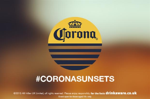 Corona launched its Sunset Sessions concept last night (23 April)