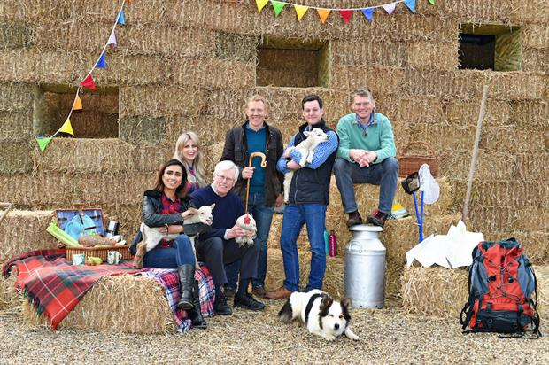 Countryfile Live will see a number of brand activations over the site