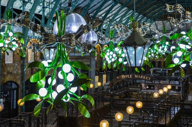 Covent Garden is hosting a range of experiences in the lead up to Christmas