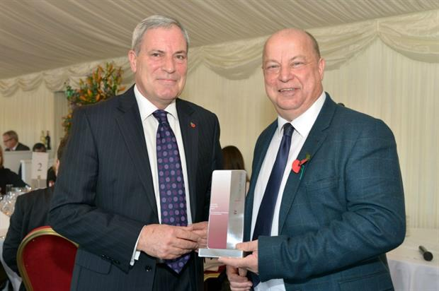 Dale Parmenter awarded Fellow at House of Lords