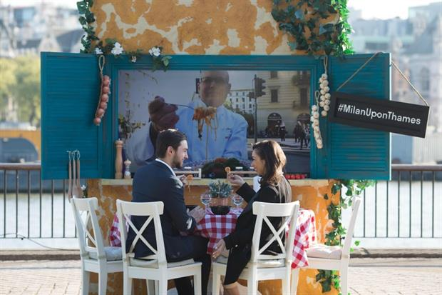 Deliveroo teamed up with Three to launch virtual dinner dates