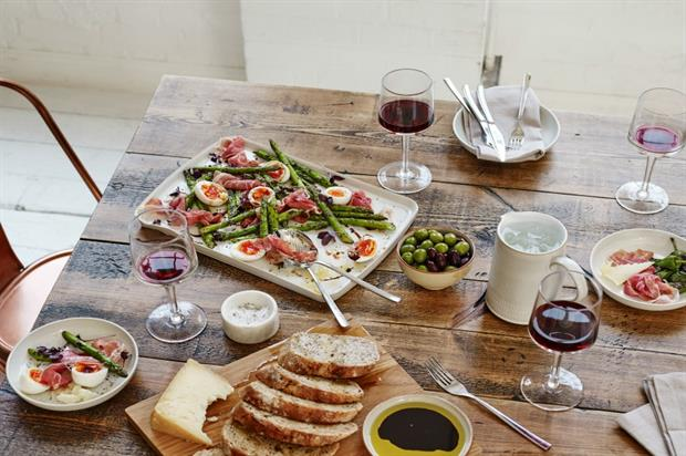 John Lewis and Denby: dinner party rules