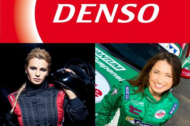 Natalia Freidina and Rebecca Jackson will each drive a branded Denso car from Moscow to London