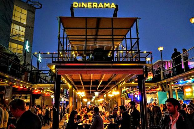 Dinerama: where Event Club 100 2017 was revealed