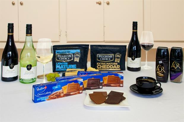 Pilgrim's Choice Cheese and Bahlsen Choco Leibniz Biscuits activate at food roadshow