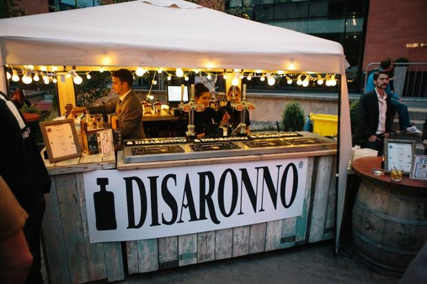 Last year's Disaronno Terrace pop-up in Manchester (image: disaronno.beoriginale.com)