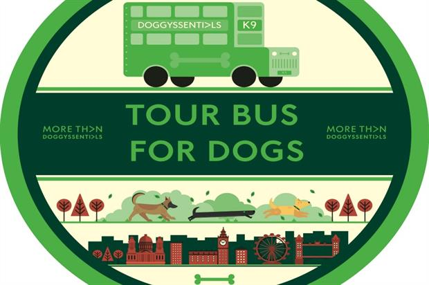 More Than: staging bus tour for dogs