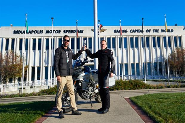 Ducati in 90th anniversary round-the-world ride