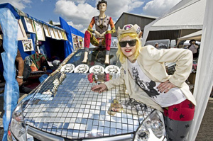 Old Truman Brewery to stage Vauxhall Art Car Boot Fair