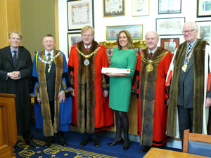 Glaziers Hall MD awarded Freedom of the City
