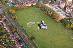 The image in Thornbury Playing Fields
