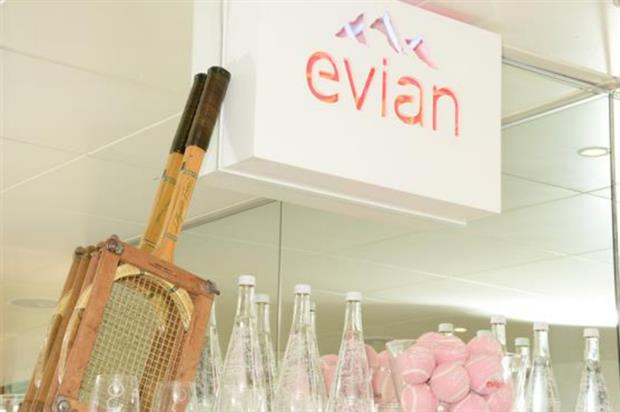 Evian launches first London pop-up shop inside Piccadilly Circus Underground Station