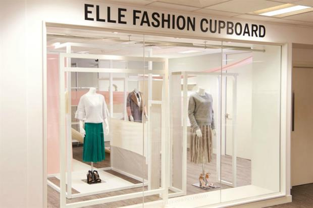 Very and Elle partnership: fashion pop-up