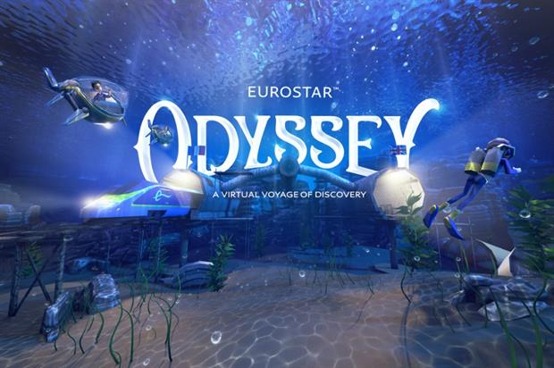 Eurostar unveils onboard VR experience