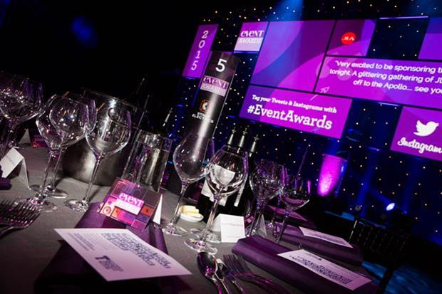 The awards will take place at the Eventim Apollo on 13 October
