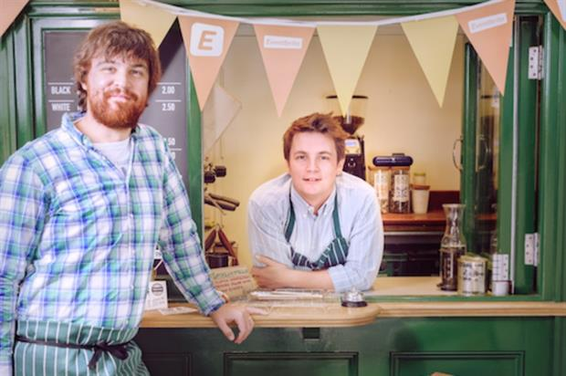 Pizza Pilgrims' Thomas and James Elliott launched the summer school this morning (1 July)
