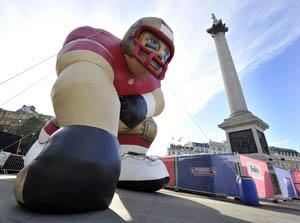 Trafalgar Square film screening to kick off weekend of NFL events