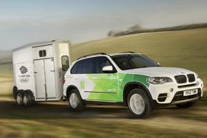 BMW reveals sustainable Olympic fleet