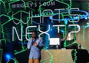 Photo gallery: Wrigley's 5 unveils new flavour with Labrinth gig