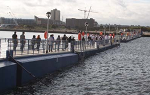 Floating walkway to provide shortcut from Excel during 2012 Games