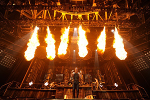 Brilliant Stages to supply heavy metal gig: gallery