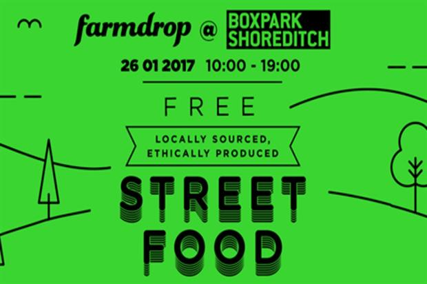 Farmdrop: pop-up at Boxpark Shoreditch