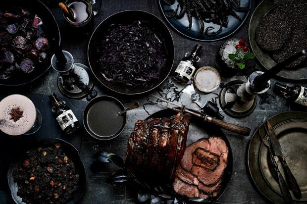 The Kraken's 'Black Christmas Dinner' provides a unique take on the traditional roast