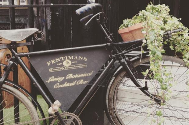 Botanicals within the space are being used to make the cocktails (@FentimansLtd)