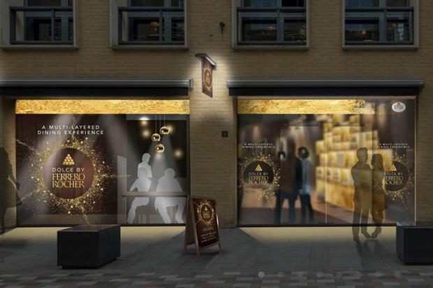 Ferrero Rocher to open dessert pop-up in central London