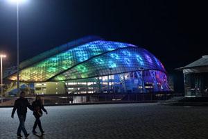 The Fisht Olympic Stadium will host the Sochi 2014 opening ceremony