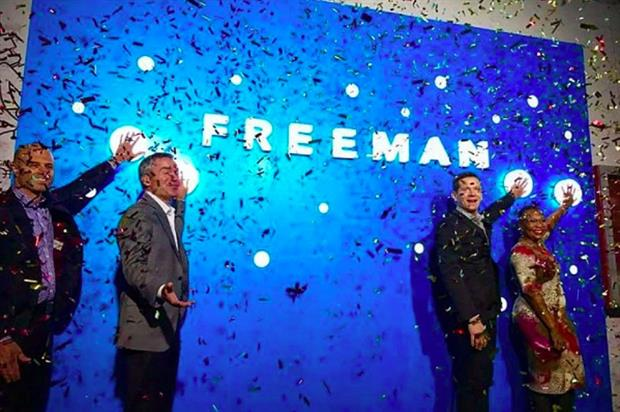 Freeman expands FreemanXP in China and Singapore