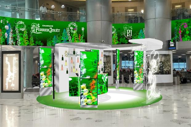 Perrier-Jouët unveils 'Garden of Wonder' in Miami International Airprot