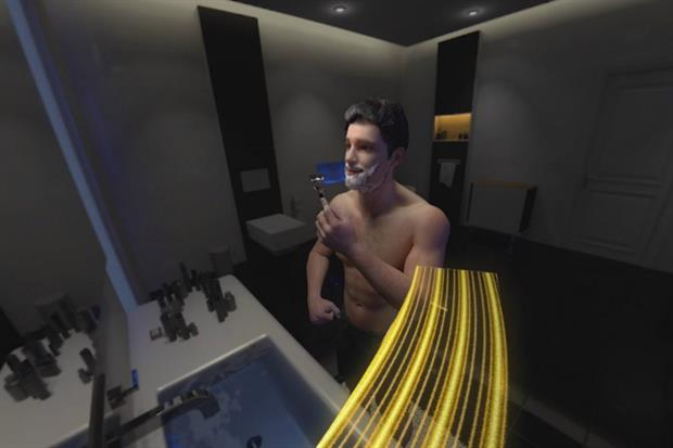 Gillette launches in-store VR experience