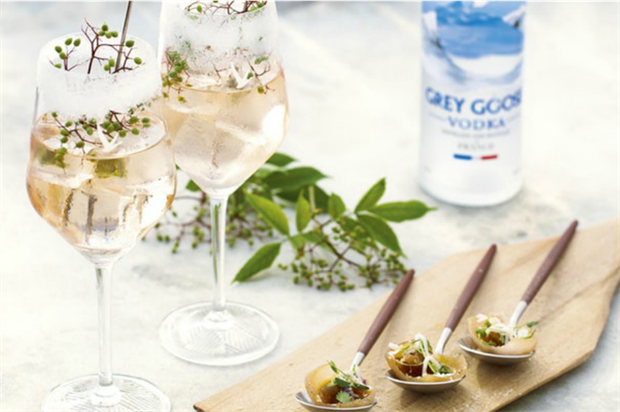 Grey Goose's Le Grand Fizz Brunch Club takes place this weekend
