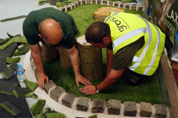 Bison Grass teams up with Grono to activate at Jewson Live