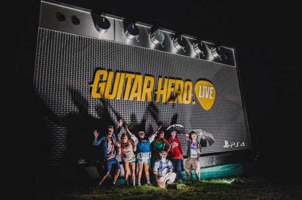 Guitar Hero Live is activating at the 2015 MTV EMA's