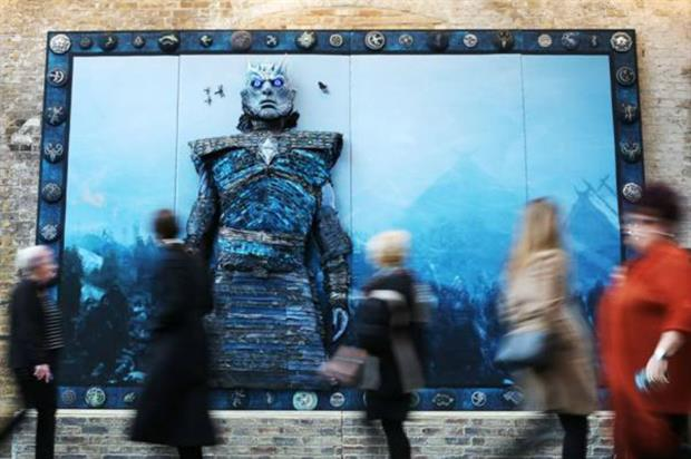 HBO unveils giant Game of Thrones artwork to promote DVD launch